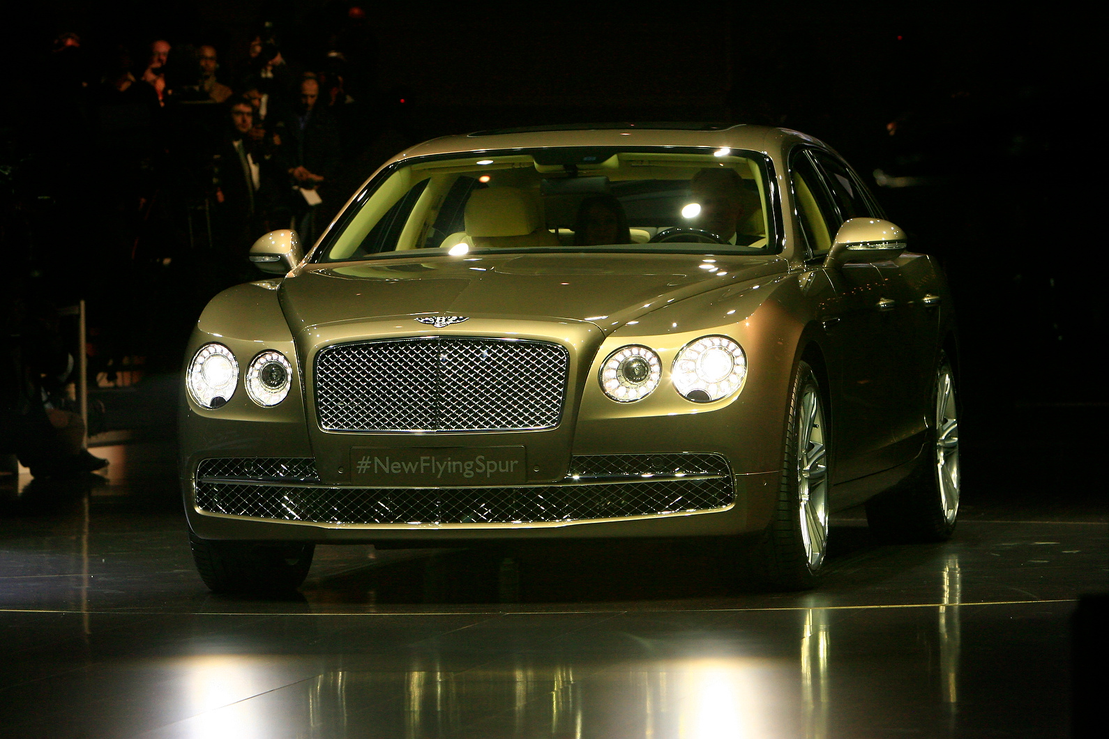 Bentley claims to have increased the performance of the new Continental Flying Spur and improved refinement.