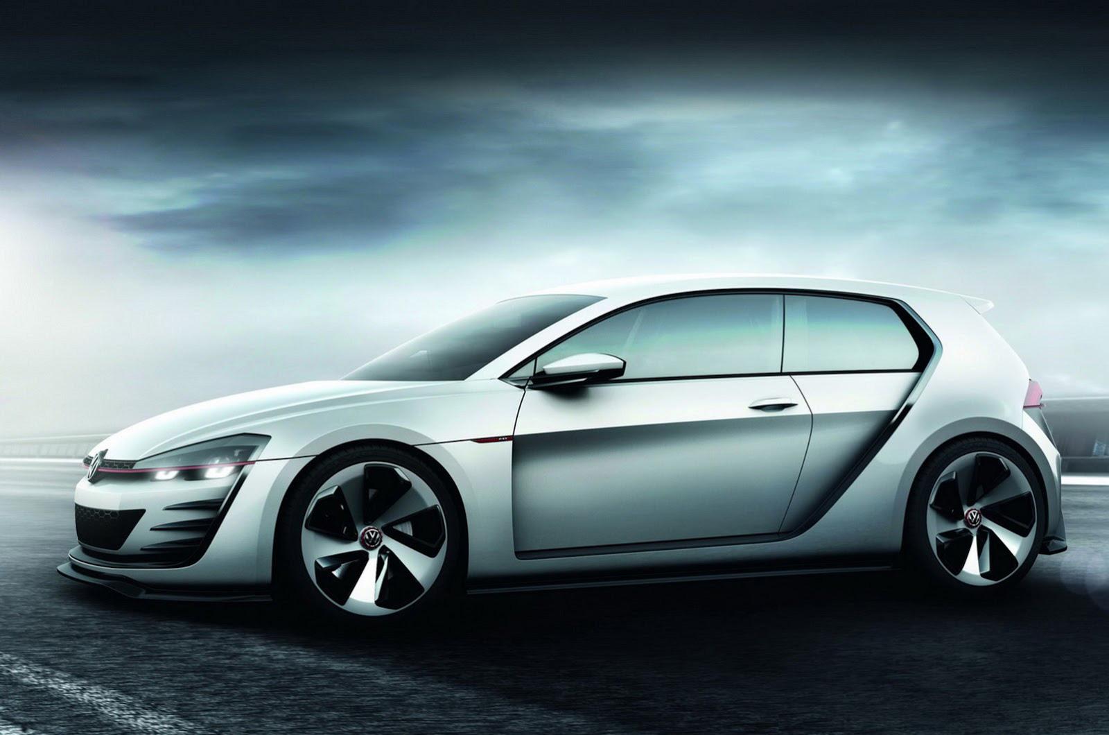 volkswagen golf design vision gti concept car gallery. Black Bedroom Furniture Sets. Home Design Ideas