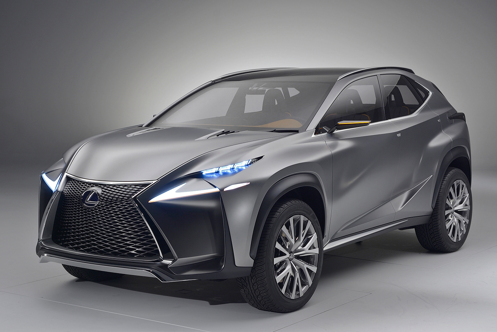 new lexus lf nx suv concept photo gallery car gallery premium luxury suvs autocar india. Black Bedroom Furniture Sets. Home Design Ideas