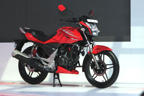 the Hero Xtreme motorcycle, slated for a launch around April. The bike