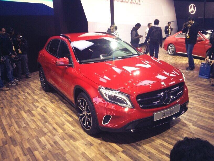 Auto expo 2014 comprehensive photo gallery auto expo for Mercedes benz gla class india