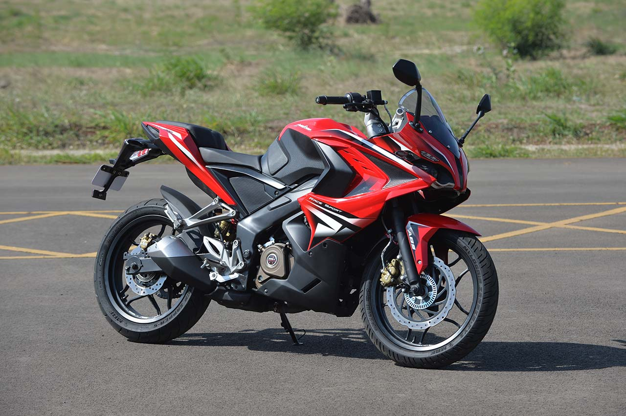 Bajaj Pulsar Rs 200 Review Photo Gallery Bike Gallery