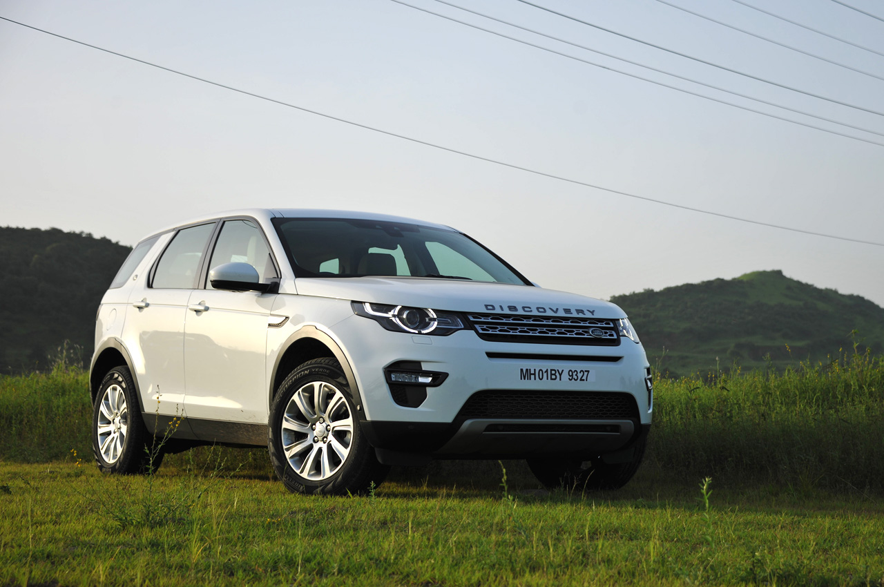 Land Rover Discovery Sport India Photo Gallery Car