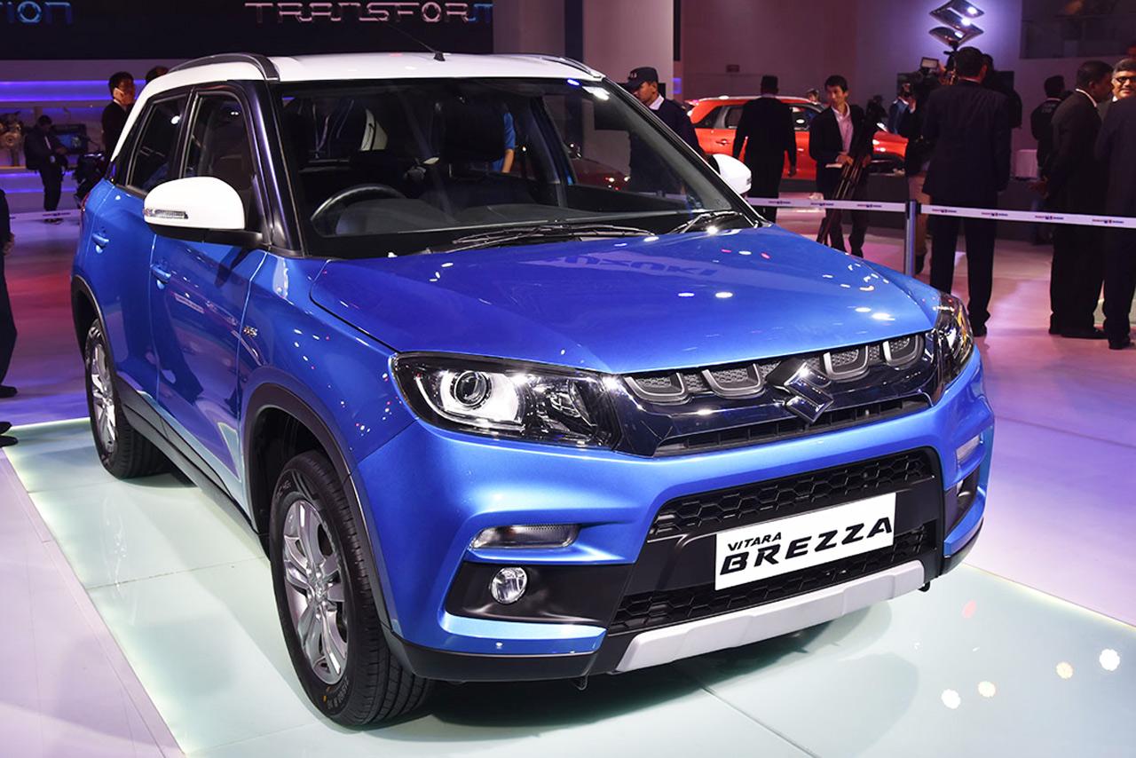 Maruti Vitara Brezza Photo Gallery Auto Expo Autocar India