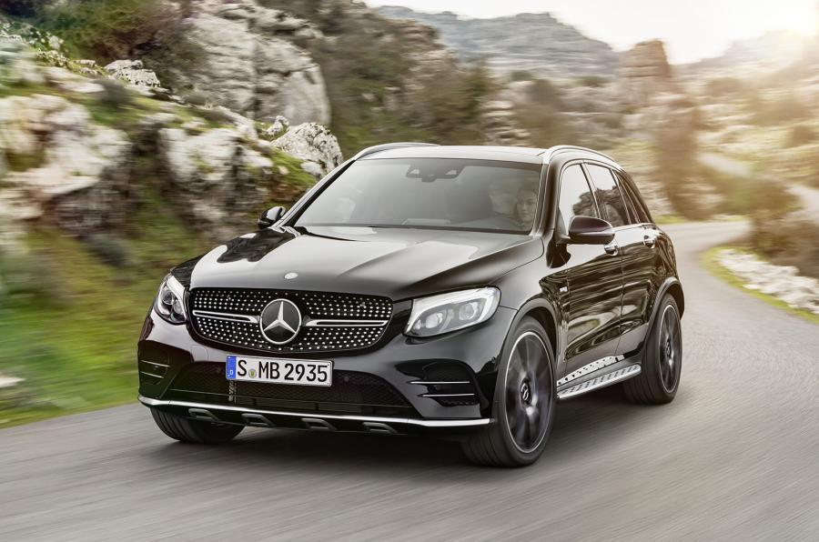 Mercedes-AMG GLC 43 SUV photo gallery