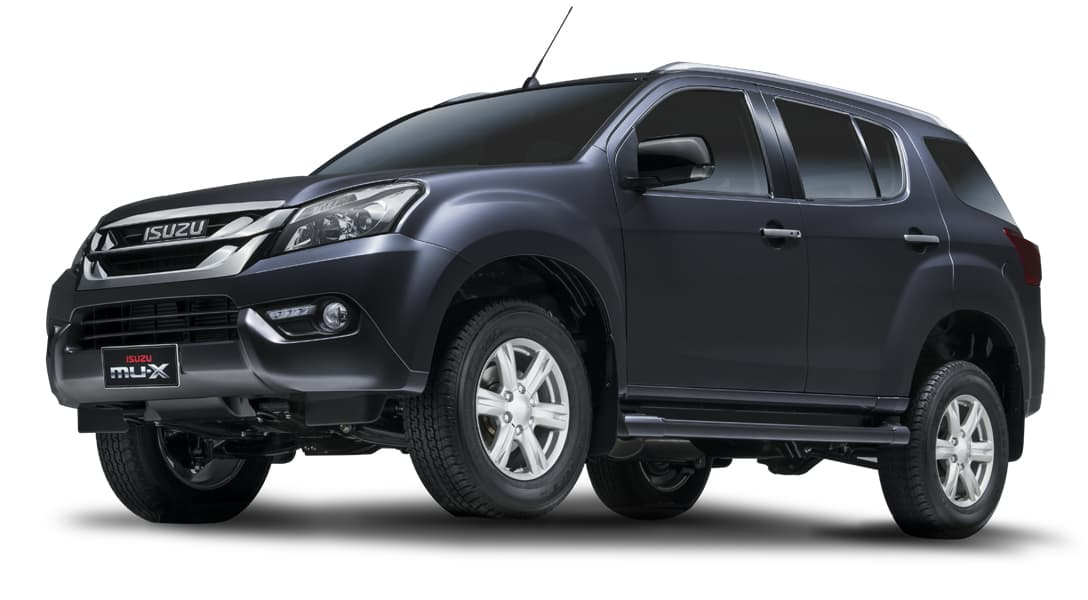Isuzu MU-X photo gallery