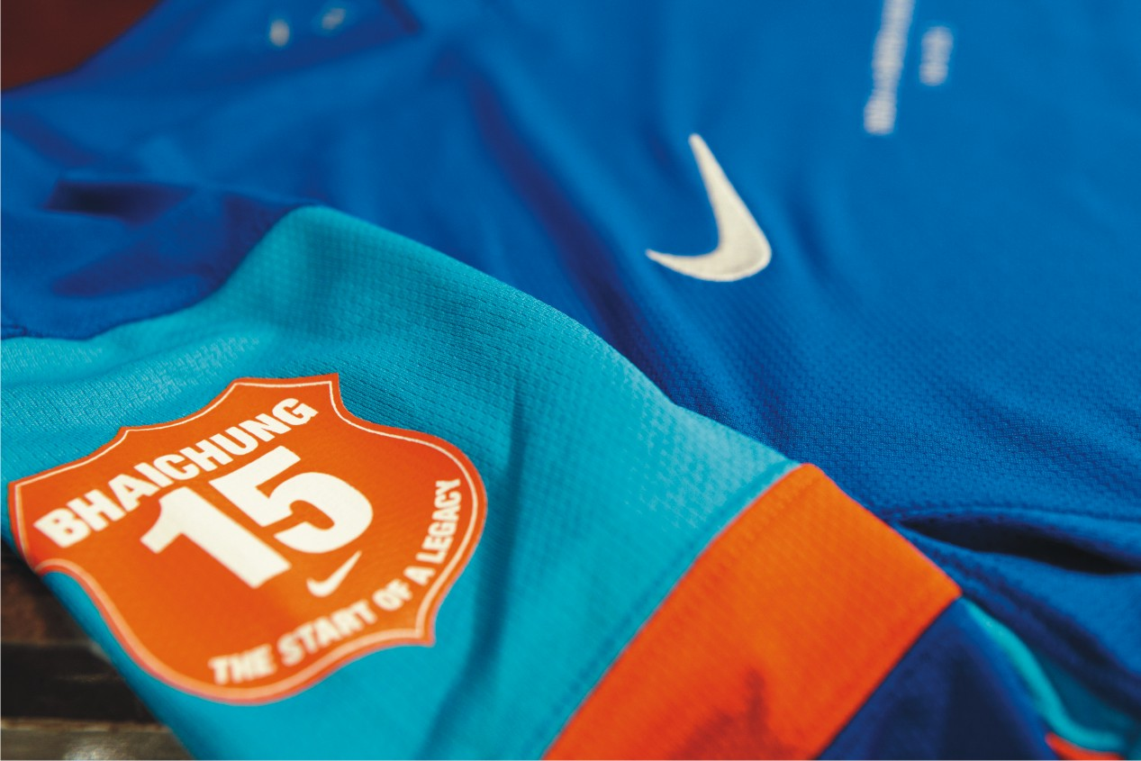 buy popular 70c0b 18671 Nike to salute Bhaichung Bhutia in his farewell match ...