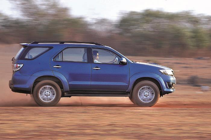 The ride is bumpy but the Fortuner feels tough enough to last through a nuclear war