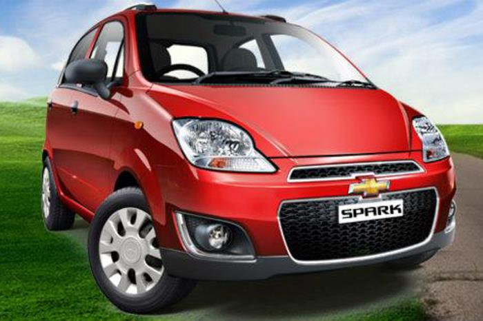 Chevrolet Spark facelift launched