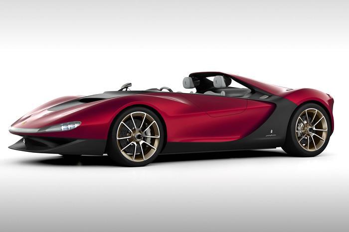 Pininfarina Sergio concept showcased at Geneva
