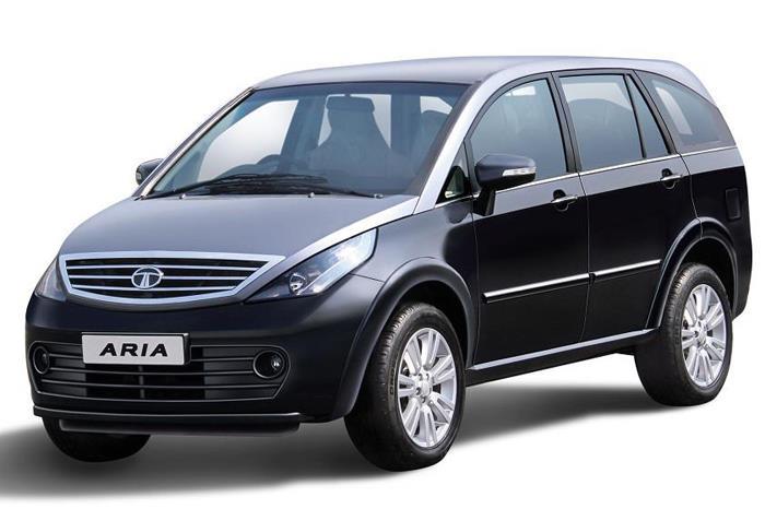 Updated Tata Aria showcased at Geneva