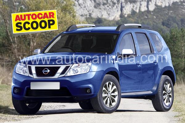 SCOOP! Nissan's Duster-based SUV is Terrano