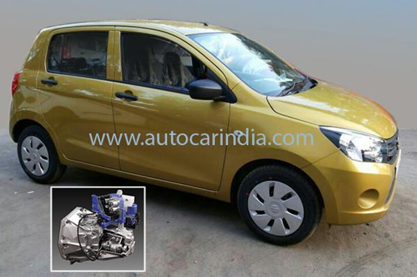 The Celerio automatic's official fuel-efficiency figure is 23.1kpl, under test conditions, which is identical to that of the manual gearbox version.