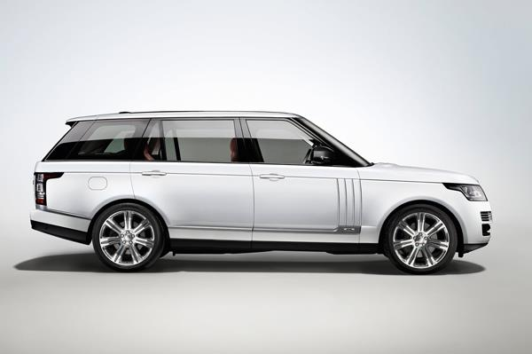 The Range Rover long wheel base will be showcased at the Auto Expo 2014.