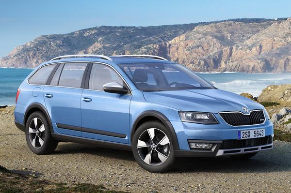 The new Skoda Octavia Scout will be unveiled at the Geneva Motor Show 2014.