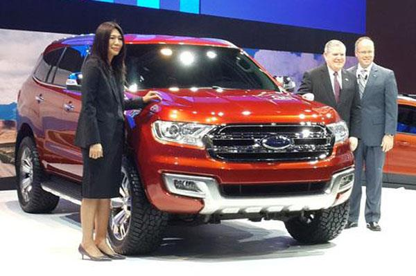 Next-gen Ford Endeavour SUV revealed