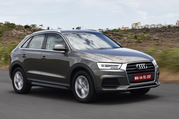 2015 Audi Q3 facelift India review, test drive