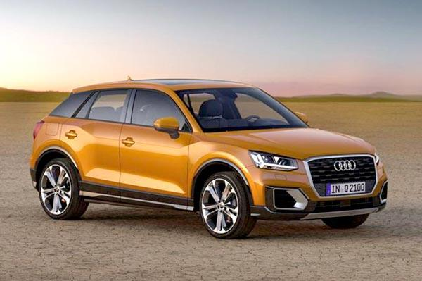 Audi developing hot version of Q2, the SQ2