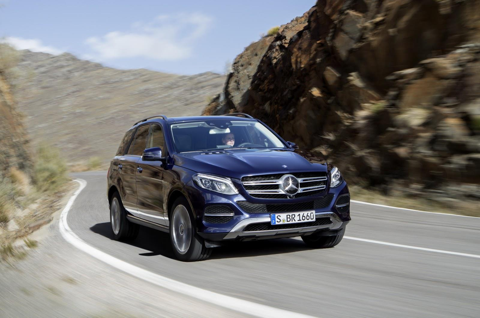 Next-gen Mercedes GLE takes shape