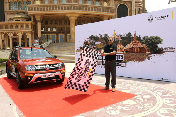 From India to Cambodia in a Renault Duster