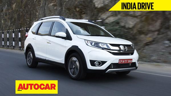 Honda BR-V India video review