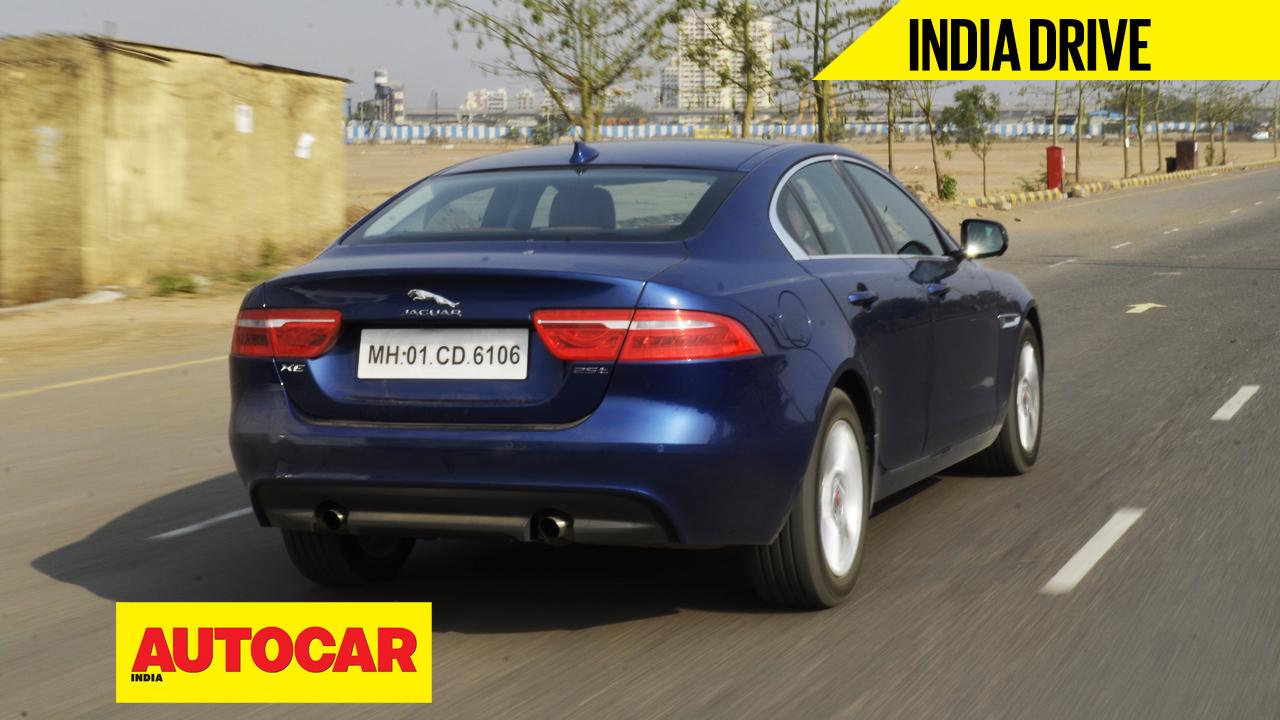 jaguar xe india video review cars luxury saloons autocar india. Black Bedroom Furniture Sets. Home Design Ideas