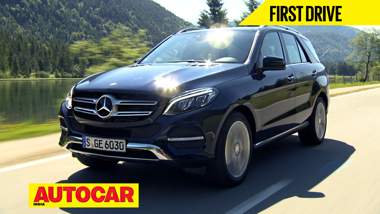 Mercedes gle video review cars premium luxury suvs for Mercedes benz suv india