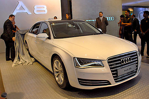 audi launches a8 l w12 quattro car news premium luxury saloons autocar india. Black Bedroom Furniture Sets. Home Design Ideas