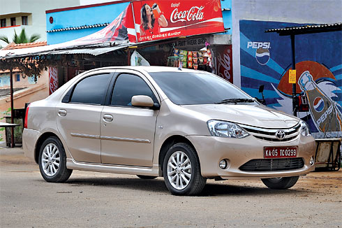 Toyota Etios Review 1 5 Petrol Cars Review Entry Level