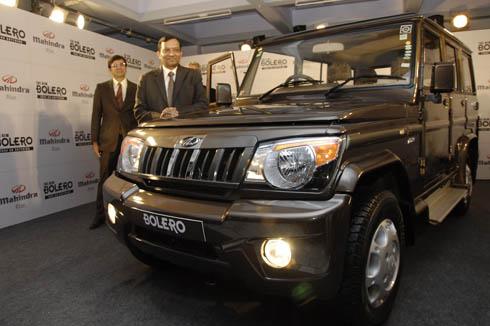 Updated Mahindra Bolero launched