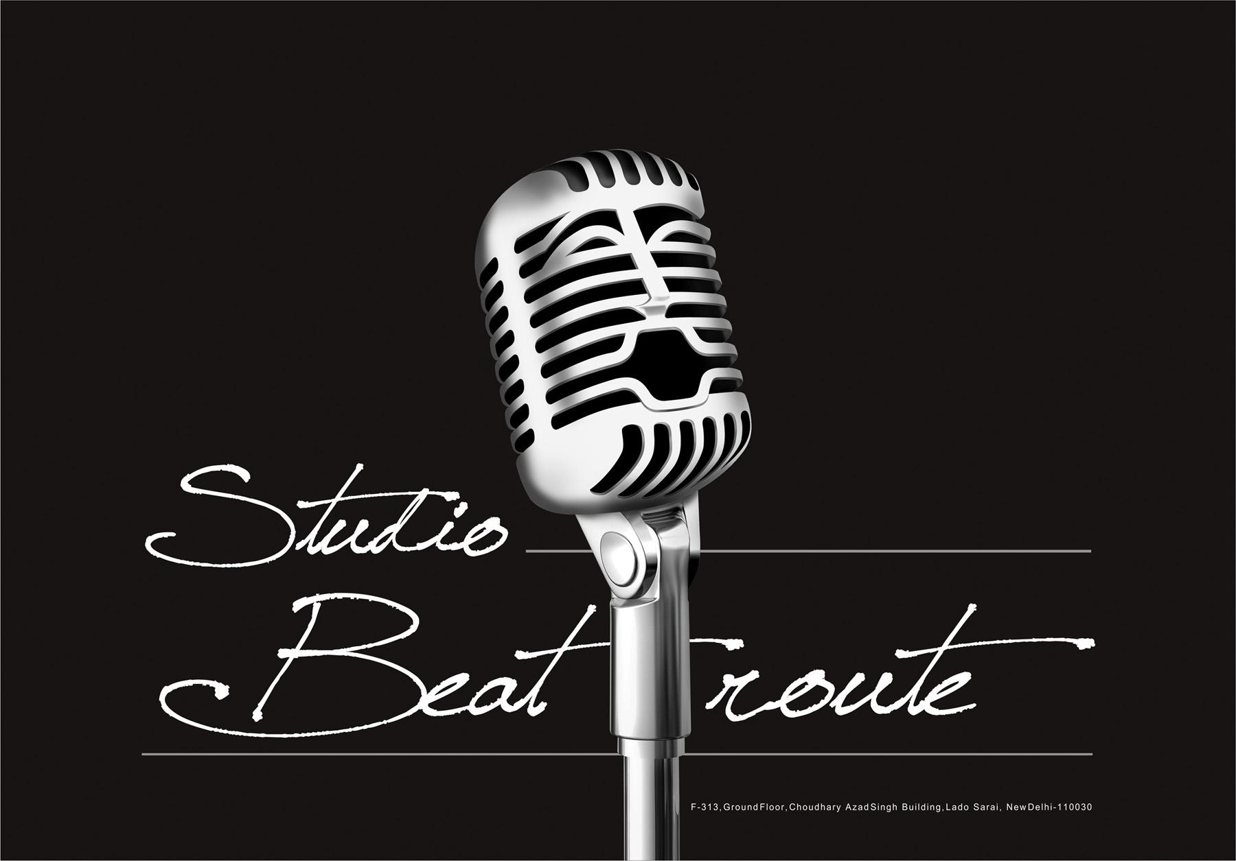 Music Studio Logo Design Logo design for studio beat